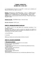 Réunion du 19 mai 2021